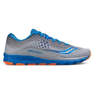 Saucony Kinvara 8 Gray / Blue / Orange