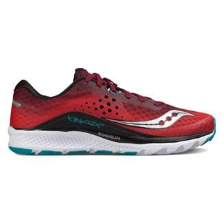Saucony Kinvara 8 Red / Black / Teal