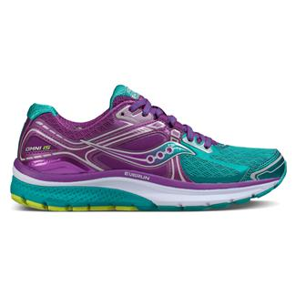 Saucony Omni 15 Teal / Purple