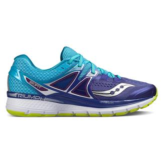 Saucony Triumph Iso 3 Purple / Blue / Citron