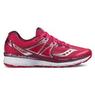 Saucony Triumph Iso 3 Pink / Berry / Silver