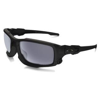 Oakley SI Ballistic Shocktube Matte Black / Gray Polar