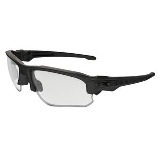 Oakley SI Speed Jacket Matte Black / Clear and Gray