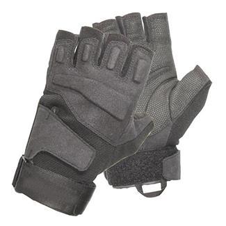 Blackhawk HellStorm SOLAG 1/2 Finger Light Assault Gloves Black