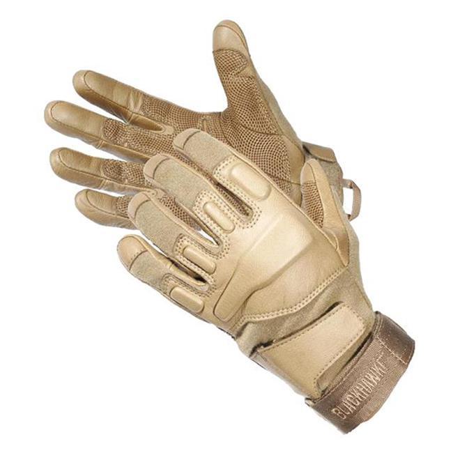 Blackhawk HellStorm SOLAG Full Finger Gloves w/ Nomex Coyote Tan