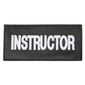 Blackhawk Instructor Patch White on Black