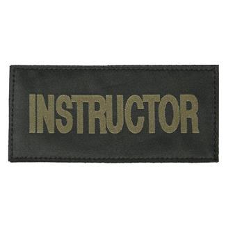 Blackhawk Instructor Patch Green on Black