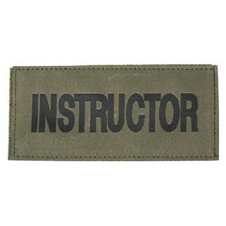 Blackhawk Instructor Patch Black on Green