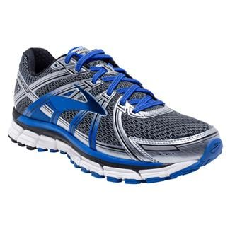 Brooks Adrenaline GTS 17 Anthracite / Eletric Brooks Blue / Silver