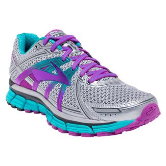 Brooks Adrenaline GTS 17 Silver / Purple Cactus Flower / Bluebird