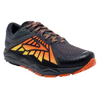 Brooks Caldera Anthracite / Red Orange / Black