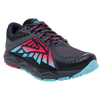 Brooks Caldera Anthracite / Azalea / Black