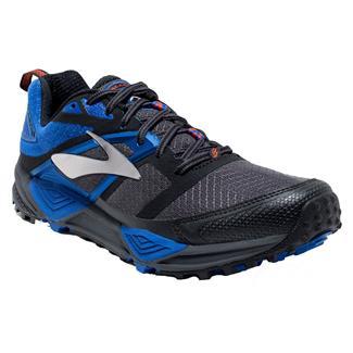 Brooks Cascadia 12 Anthracite / Eletric Blue / Black