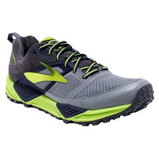 Brooks Cascadia 12 Primer Gray / Anthracite / Lime Punch
