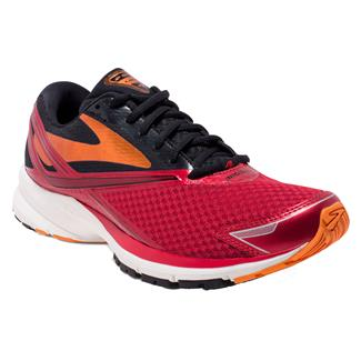 Brooks Launch 4 High Risk Red / Black / Orange Peel