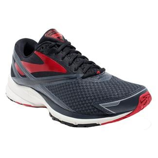Brooks Launch 4 Anthracite / Black / High Risk Red