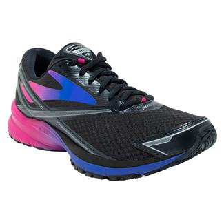 Brooks Launch 4 Black / Fushcia Purple / Dazzling Blue