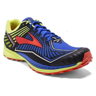 Brooks Mazama Electric Brooks Blue / Lime Punch / Cherry Tomato