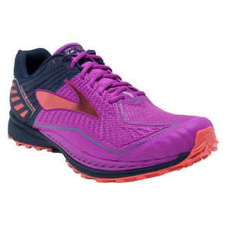 Brooks Mazama Purple Cactus Flower / Peacoat / Hot Coral