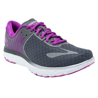 Brooks PureFlow 6 Abthracite / Silver / Purple Cactus Flower