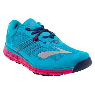 Brooks PureGrit 5 Peacock Blue / Virtual Pink / Patriot Blue