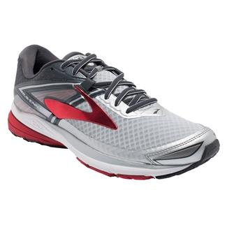 Brooks Ravenna 8 Silver / Anthracite / High Risk Red