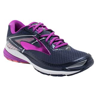 Brooks Ravenna 8 Peacoat / Purple Cactus Flower / Fusion Coral