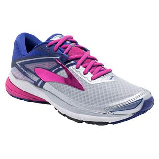 Brooks Ravenna 8 Silver / Clematis Blue / Very Berry