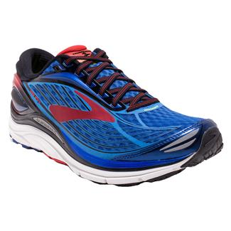 Brooks Transcend 4 Electric Brooks Blue / Black / High Risk Red