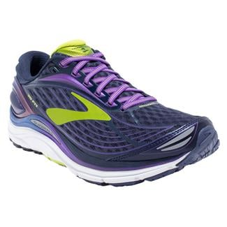Brooks Transcend 4 Peacoat / Iridesium / Lime Punch