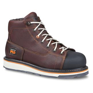 """Timberland PRO 6"""" Gridworks AT Red / Brown"""