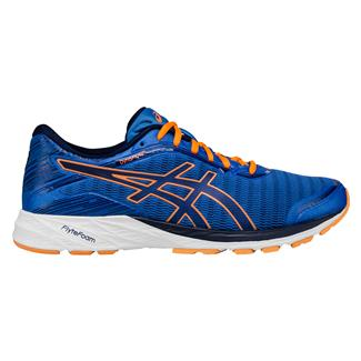 ASICS DynaFlyte Electric Blue / Indigo Blue / Hot Orange