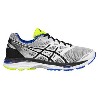 ASICS GEL-Cumulus 18 White / Black / Electric Blue