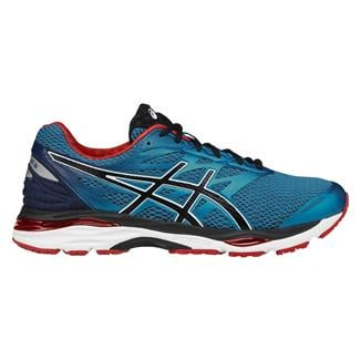 ASICS GEL-Cumulus 18 Island Blue / Black / Vermillion