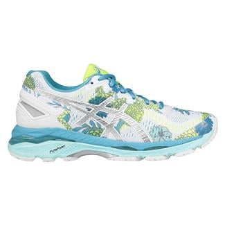ASICS GEL-Kayano 23 White / Silver / Aquarium