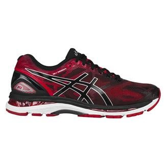 ASICS GEL-Nimbus 19 Black / Vermillion / Silver