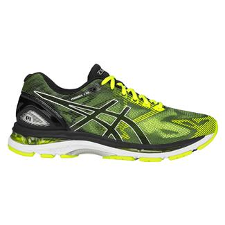 ASICS GEL-Nimbus 19 Black / Safety Yellow / Silver