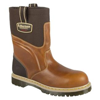 "Dr. Martens 11"" Howk ST Tan / Dark Brown Gaucho / Dark Brown"