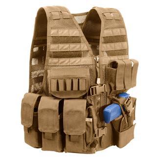 Elite Survival Systems Commandant Tactical Vest Coyote Tan