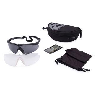 Revision Military StingerHawk Military Kit Black (frame) - Clear / Solar (2 lenses)
