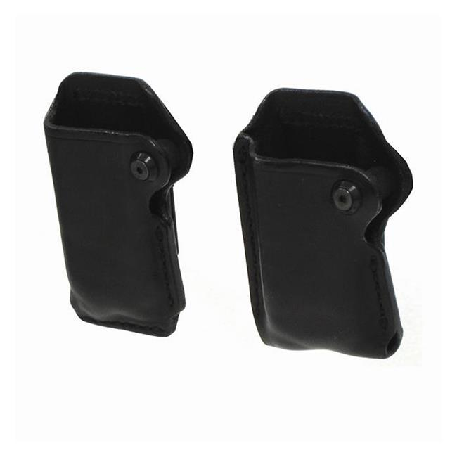 Blackhawk Leather Double Row Magazine Pouches Black