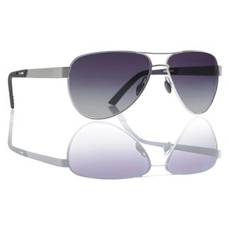 Revision Military Alphawing Sport Metal Sunglasses Gradient Gray