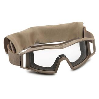 Revision Military Wolfspider Goggle Basic Kit Coyote Tan (frame) - Clear (lens)