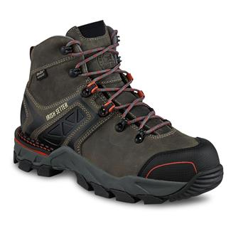 "Irish Setter 6"" Crosby Hiker CT WP Black / Gray"