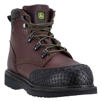 "John Deere 6"" Lace Up ST Brown"