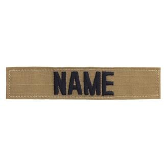Name Tape Coyote / Black