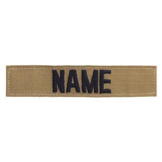 Name Tape Coyote / Black
