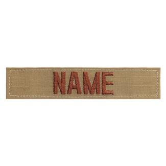 Name Tape Spiced Brown