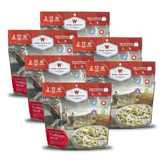 Wise Food Outdoor Meal Pouches (6 Count) Noodles & Beef