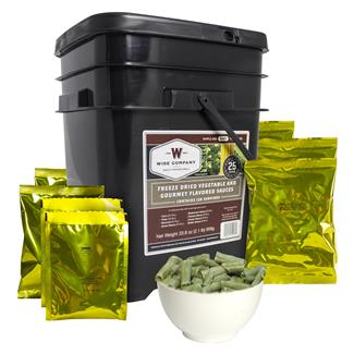 Wise Food Freeze-Dried Vegetables with Sauce (120 Servings)